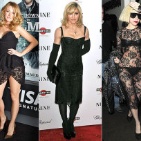 Who looks better, Blake, Madonna or Gaga?