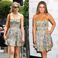 Who looks better in this dress: Taylor or Carmen?