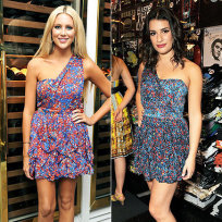 Who looked better, Stephanie or Lea?