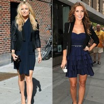 Who looked better, Kate or Audrina?