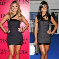 Who wore this dress better: Heidi Klum or Kelly Rowland?