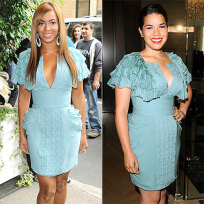 Who wears this dress better: Beyonce or America?