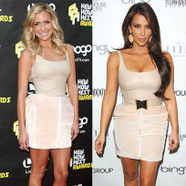 Who wore it better, Kristin or Kim?