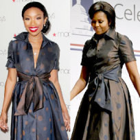 Who wore it better, Brandy or Michelle?