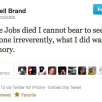 Russell brand tweet