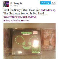 Pauly d tweet