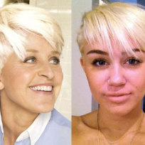 Ellen degeneres vs miley