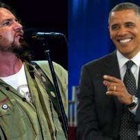 Vedder-and-obama