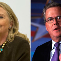 Hillary clinton vs jeb bush