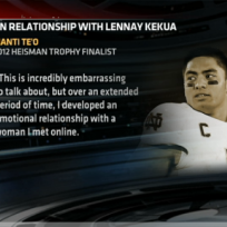 Manti teo statement