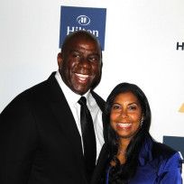 Magic johnson wife