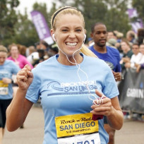 Kate Gosselin Running