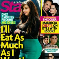 Kim Kardashian Star Cover