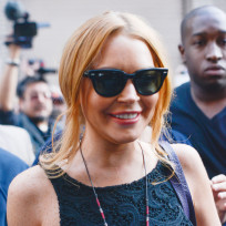 Lindsay Lohan Sunglasses Photo