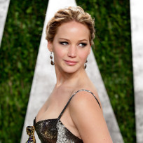 Jennifer Lawrence Gets Fancy