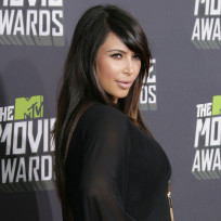 Kim Kardashian at MTV Movie Awards