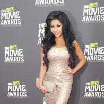 Snooki at the MTV Movie Awards