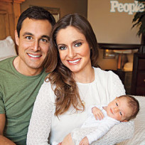 Jason and Molly Mesnick, Baby