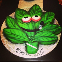 Weed-cake