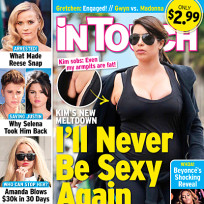 Kim Kardashian In Touch Cover