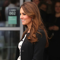 Kate Middleton Baby Bump Photograph