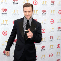 Justin Timberlake Red Carpet Pose