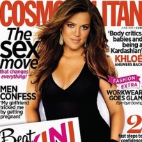 Khloe Kardashian Cosmo UK Cover