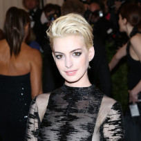 What do you think of Anne Hathaway as a blonde?