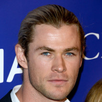 Chris hemsworth close up