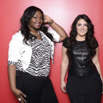 Candice Glover and Kree Harrison