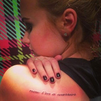 Demi Lovato Tattoo Picture