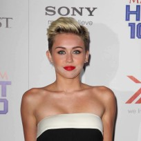 Miley Cyrus on Maxim Red Carpet