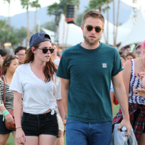 Robert Pattinson and Kristen Stewart at Coachella