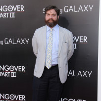 Zach galifianakis at hangover premiere