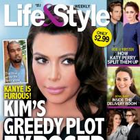 Scheming Kim Kardashian?