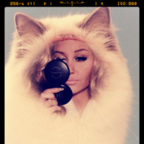 Amanda Bynes as a Cat