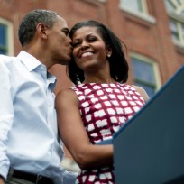 Barack and Michelle Obama Photograph