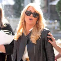 Dina Lohan in Sunglasses