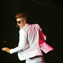 Justin Bieber Moscow Concert Pic