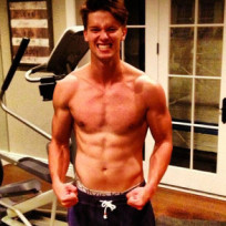 Patrick Schwarzenegger Shirtless Photo