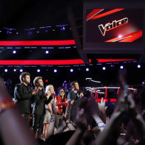 Voice Finals Photo
