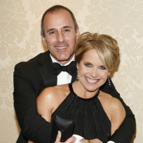 Matt Lauer and Katie Couric