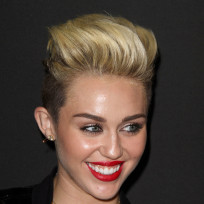 Miley Cyrus Punk Look