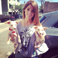 Ashley-greene-new-puppies