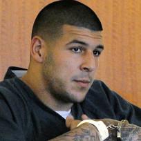 Aaron Hernandez Handcuffed