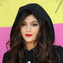 Kylie Jenner with a Hood