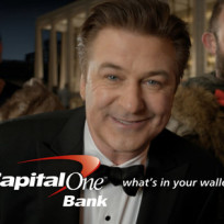 Alec baldwin capital one ad
