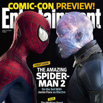 Jamie foxx as electro in amazing spider man 2