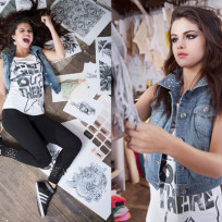 Selena Gomez Adidas Photos