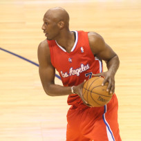 Lamar odom on the clippers